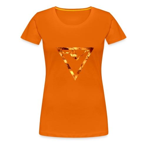 Gipfel Logo - Frauen Premium T-Shirt