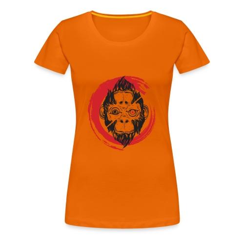 Scimmia_cambia_1 monkey - Maglietta Premium da donna