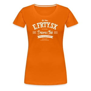 e.frty.sx drivers club retro - Frauen Premium T-Shirt