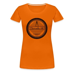 Circlular Threads.AK Logo - Women's Premium T-Shirt