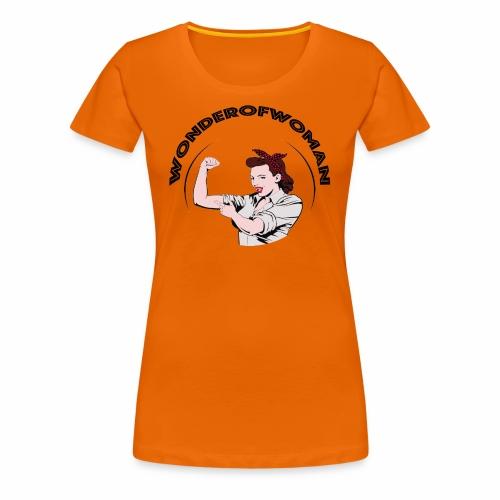 WonderOfWoman - T-shirt Premium Femme