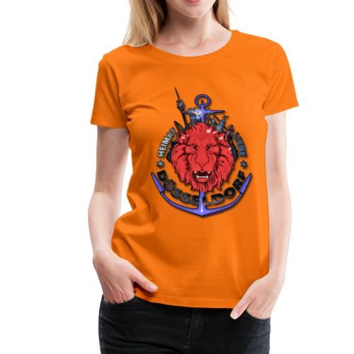 Heimat-Liebe-Düsseldorf - Frauen Premium T-Shirt