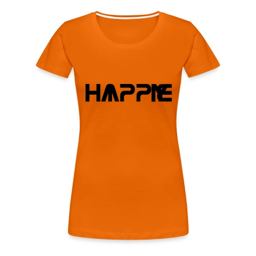 Happy Hippie - Frauen Premium T-Shirt