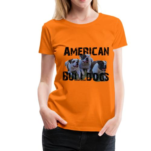 Bulldoge,Hundekopf,AmericanBulldog,Bulldogge,Hunde - Frauen Premium T-Shirt