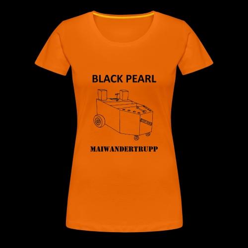 Bollerwagenemblem + MAIWANDERTRUPP - Frauen Premium T-Shirt