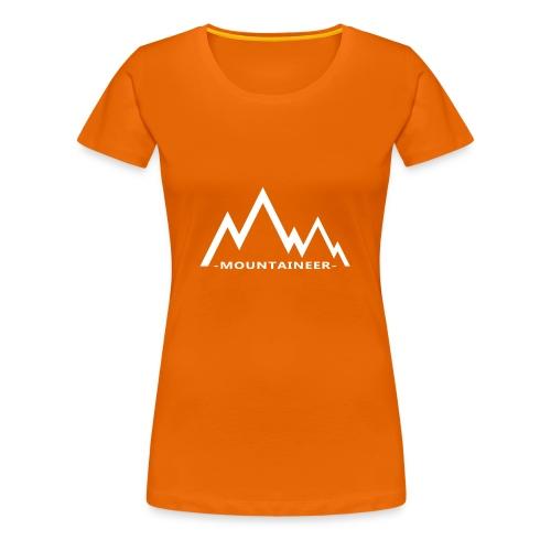 mountaineer - Women's Premium T-Shirt
