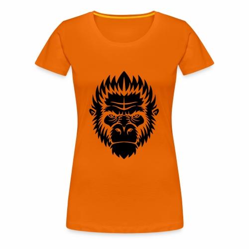 gorilla black - T-shirt Premium Femme