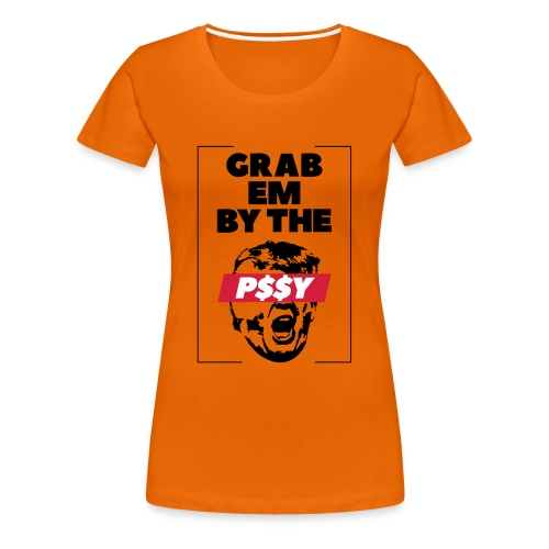 pussy black - Frauen Premium T-Shirt