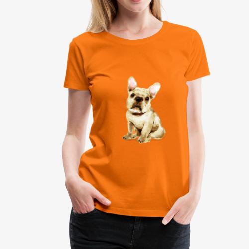Französische Bulldogge I geliebter Frenchi - Frauen Premium T-Shirt