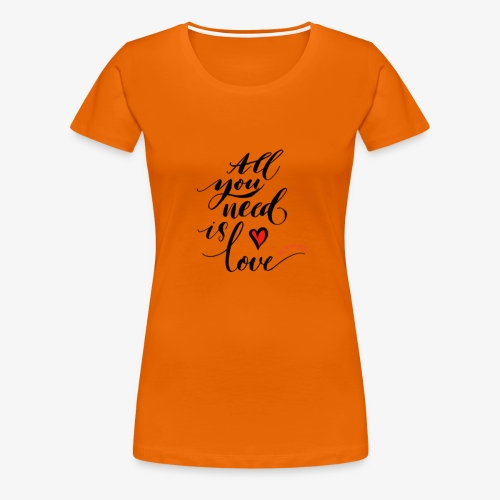 Love geek - T-shirt Premium Femme