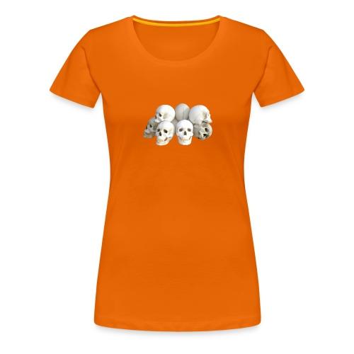 Calaveras - Camiseta premium mujer