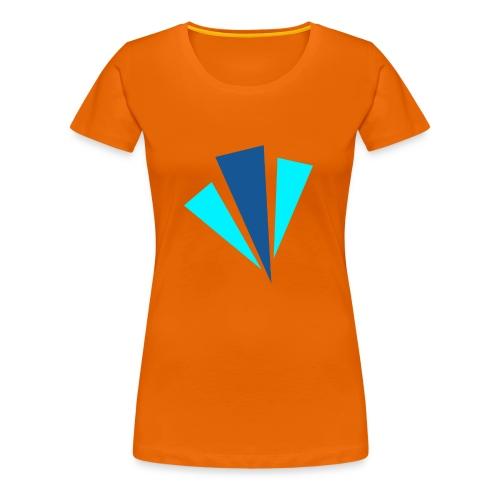 Blauwe Objecten T-shirt - Vrouwen Premium T-shirt