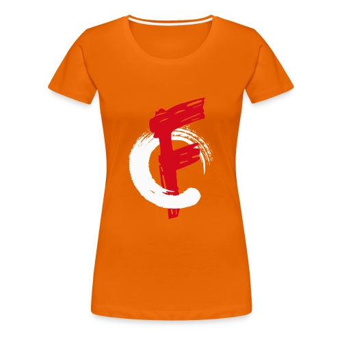 FadeOut Logo Shirt - Frauen Premium T-Shirt
