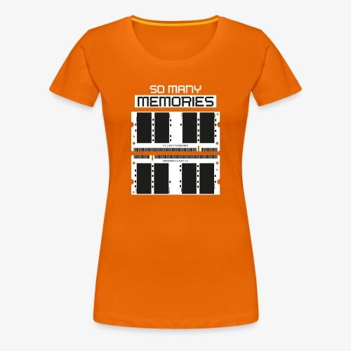 Memories - Frauen Premium T-Shirt