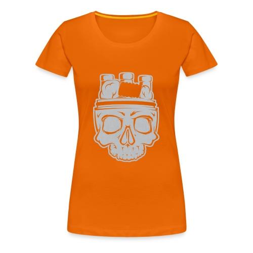VAPE SKULL - Koszulka damska Premium