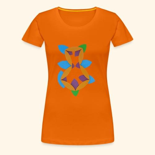 oranjeblanjebleu - Vrouwen Premium T-shirt