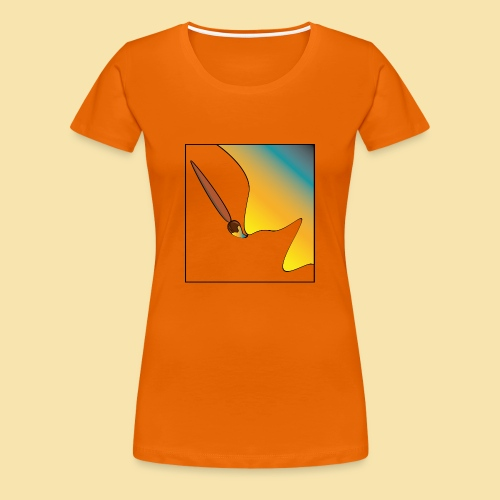 Paint your World - Maglietta Premium da donna