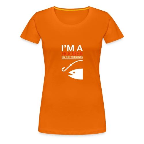 Angler - Frauen Premium T-Shirt