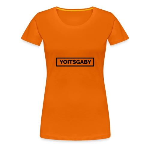 YoItsGaby T-shirt Zwart // Man - Vrouwen Premium T-shirt