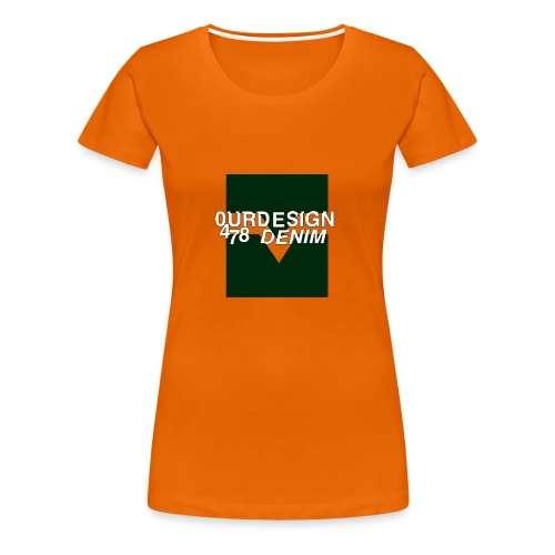 OD-ID: 004 The Green Crack - Women's Premium T-Shirt
