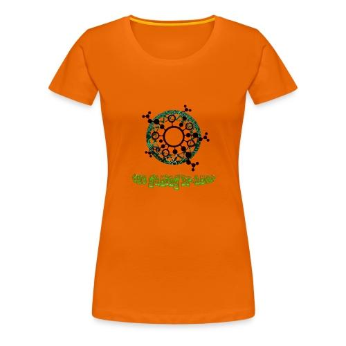 Gourde TGD - T-shirt Premium Femme