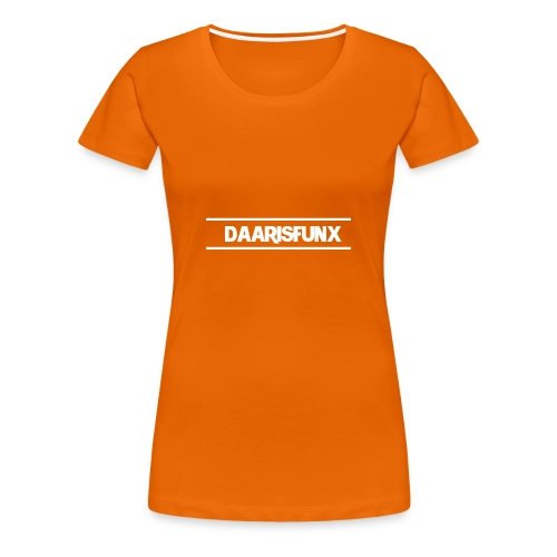 DaarIsFunx T-Shirt - Vrouwen Premium T-shirt