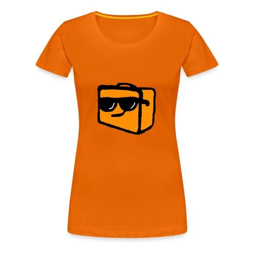 Matboksen Pins - Premium T-skjorte for kvinner