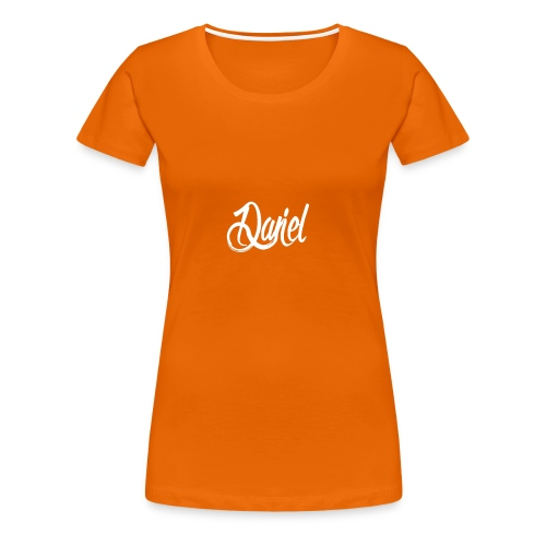 DANIEL contrast hoodie voor mannen - Vrouwen Premium T-shirt