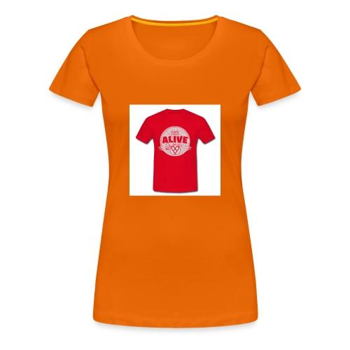 Herre-T-shirt - Dame premium T-shirt