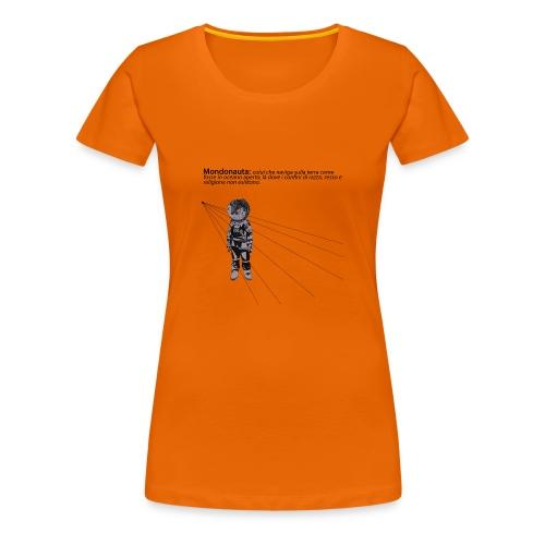 Mondonauta - Maglietta Premium da donna