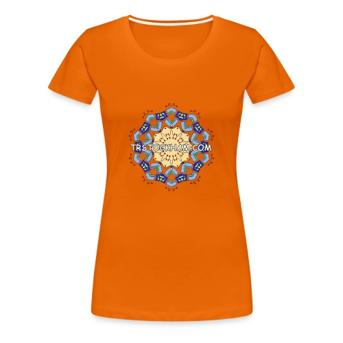 Enjoyably Quirky Colouring Book Design 7 - Women's Premium T-Shirt