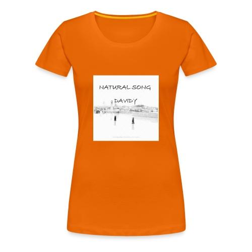 Natural song - T-shirt Premium Femme