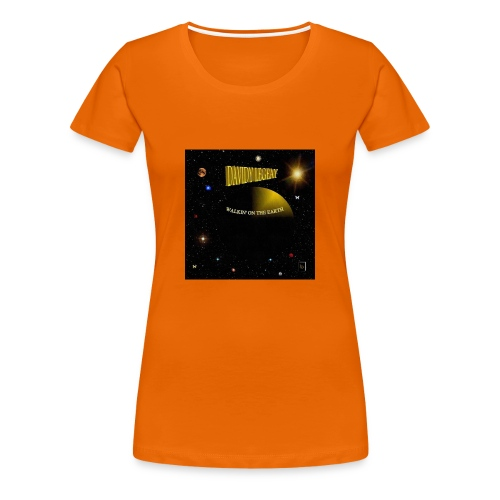 Walkin' on the earth - T-shirt Premium Femme