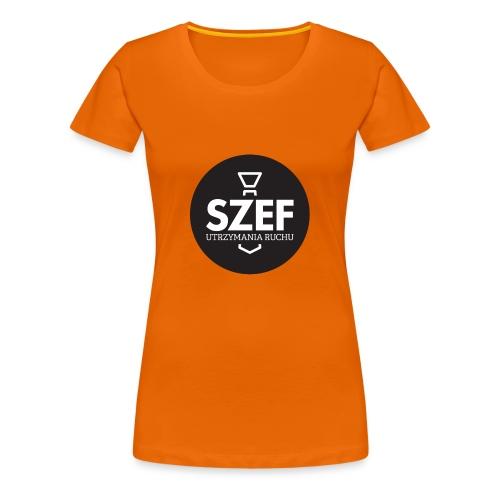 Logo-szef-utrzymania-ruchu_ok_net_black - Koszulka damska Premium