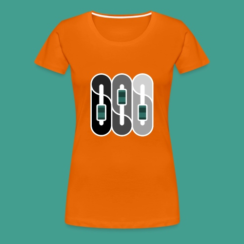Silverman Sound Studios Logo - Women's Premium T-Shirt