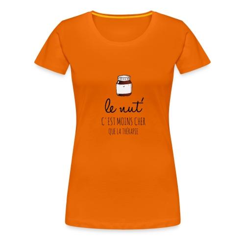 Le Nut' - T-shirt Premium Femme