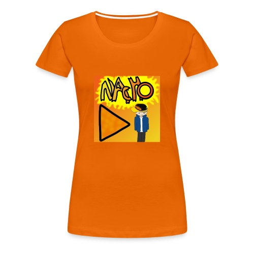 Nacho Title with Little guy - Women's Premium T-Shirt