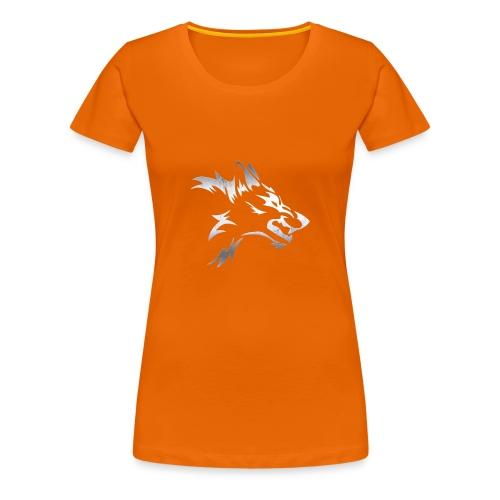 Kizo1991 Silver Wolf - Women's Premium T-Shirt