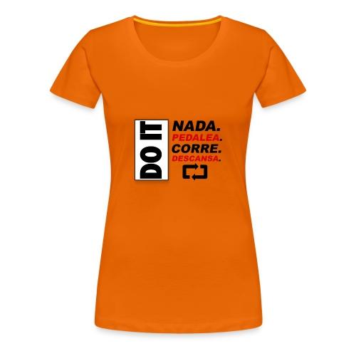 TRIATLON2 - Camiseta premium mujer