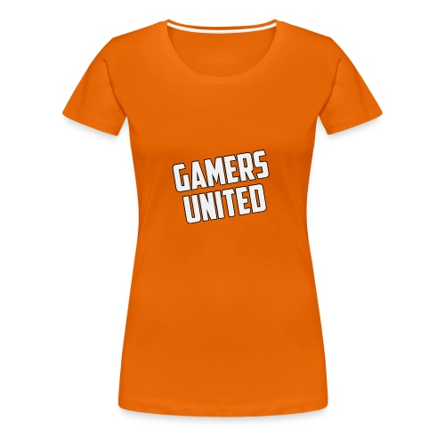 Gamers United - Women's Premium T-Shirt