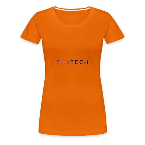FlyTech Official Logo Est.2016 - Vrouwen Premium T-shirt