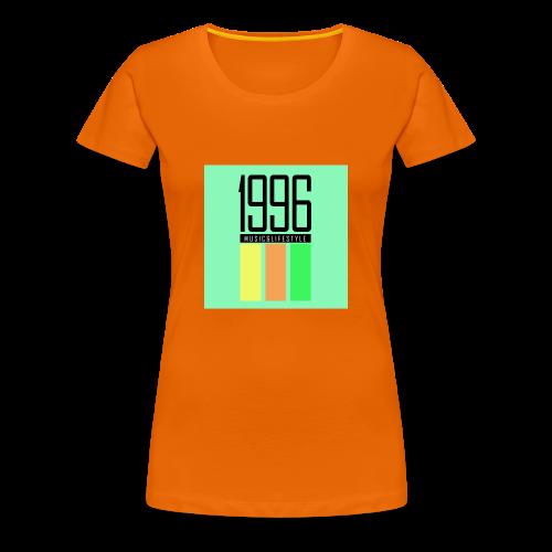 1996 color - Frauen Premium T-Shirt
