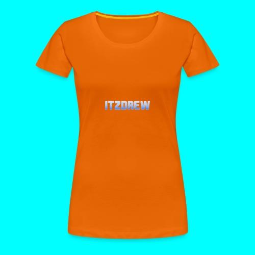 ITZDREW MERCH - Women's Premium T-Shirt