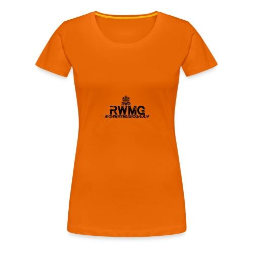 RWMG_Black 2 - Vrouwen Premium T-shirt