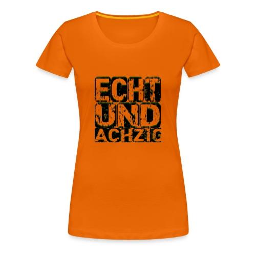 Twitch-echtundachzig - Frauen Premium T-Shirt