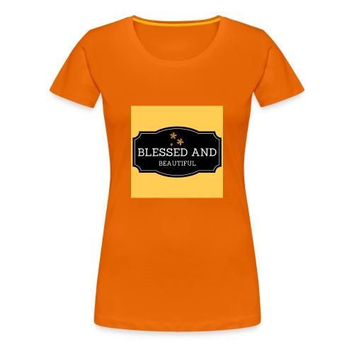blessed and beautiful xx - Women's Premium T-Shirt