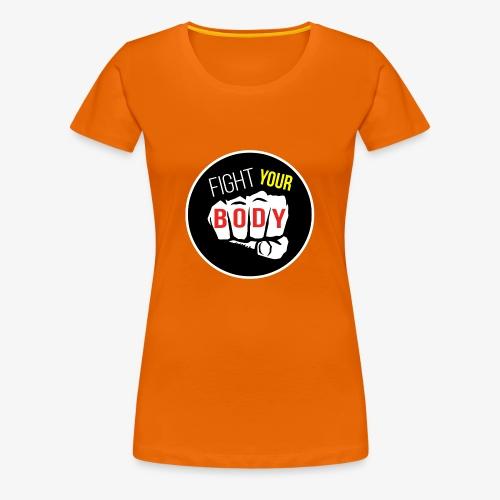 logo fyb noir - T-shirt Premium Femme