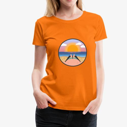 Sommerlaune - Frauen Premium T-Shirt