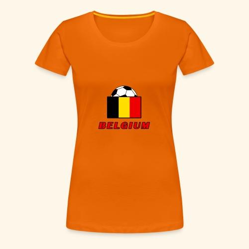 BELGIUM national team design - Women's Premium T-Shirt