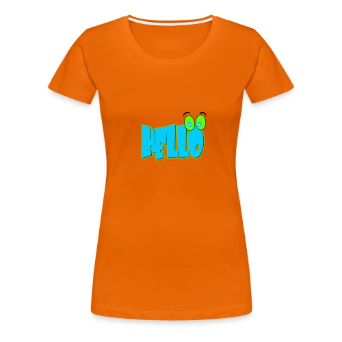 HELLO - T-shirt Premium Femme